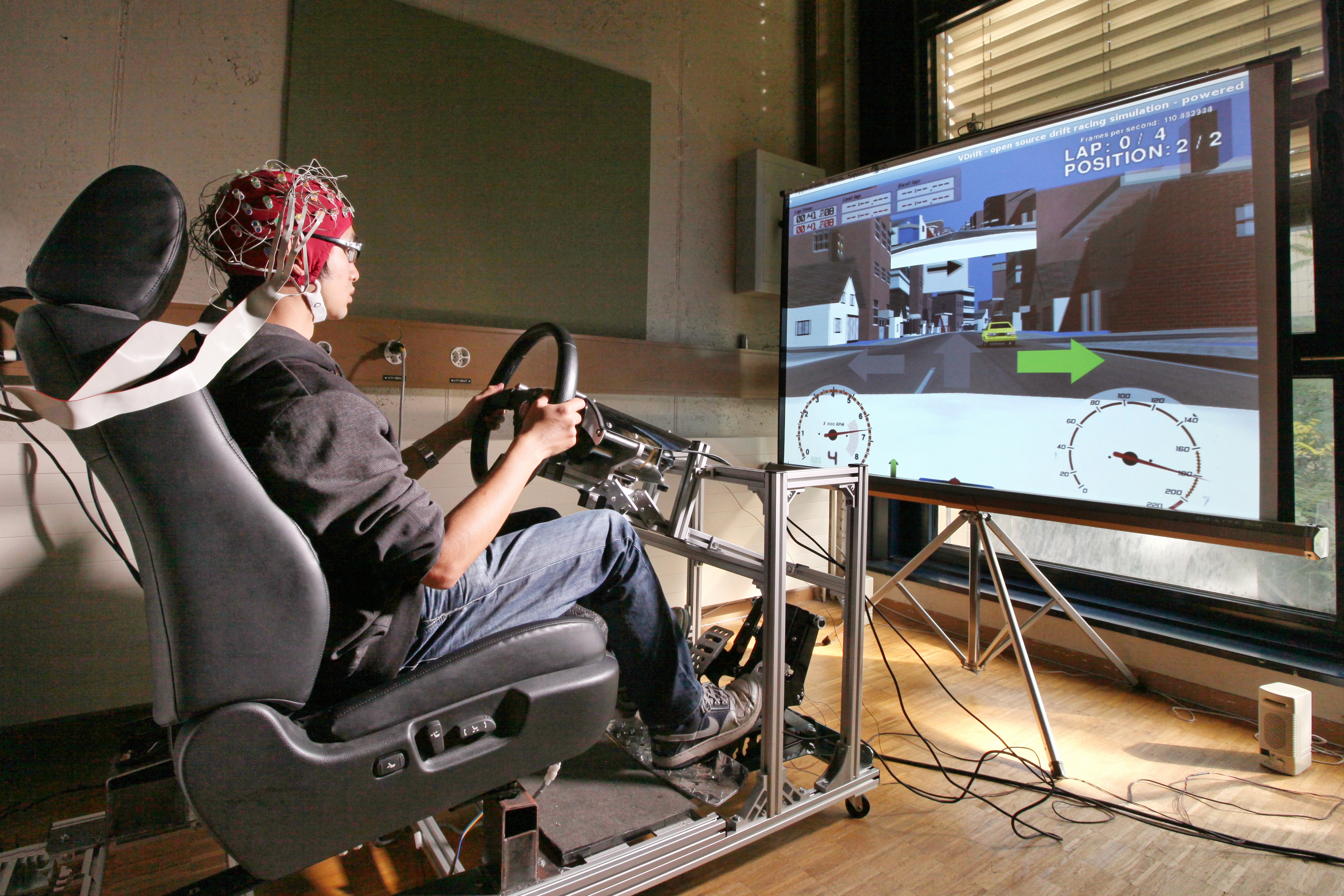 Brain-machine interfaces for car drivers
